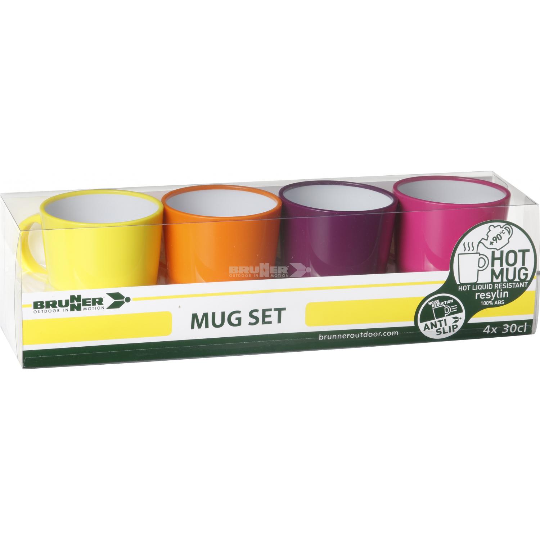 BRUNNER Mug Set ABS Spectrum Flame